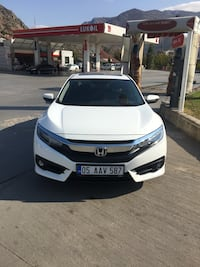 2017 Honda Civic 1.6 EXECUTIVE ECO OTM BENZIN/LPG Amasya Merkez, 05100