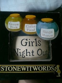 Girls night out money jar London, N5W 2Y8