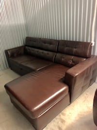 Brown Sectional Couch Davie, 33324