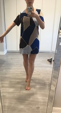 Aritzia Colourblock Dress - Size Small Toronto, M4W