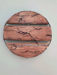 brown wooden wall-mounted wall decor Châteauguay, J6J 2C7