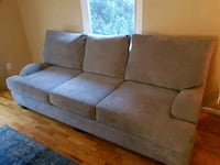 gray suede 3-seat sofa Los Angeles, 90019