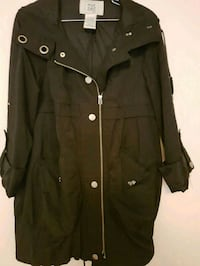 Ladies black jacket. Size medium / large  Toronto, M2M 4B9