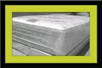 """Full 16"""" double pillow top mattress with boxspring College Park"""