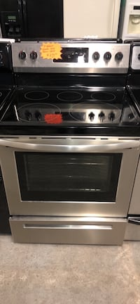 Frigidaire stainless steel electric stove