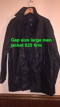 black and gray zip-up jacket Troy, 12182