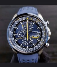 CITIZEN Automatic Quartz Watches Blue Angels World Chronograph Laval, H7N 6E9
