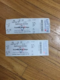 Blue Jays Tickets  Toronto, M1H 2C4
