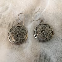 .925 silver earrings from mexico  Vancouver, V5R
