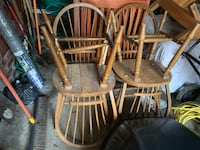 Set of four (4) wooden dining room chairs  Takoma Park, 20912