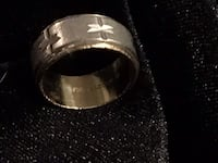 10kt gold and sterling silver band Glen Burnie, 21061