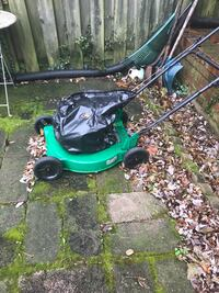 green and black push mower Temple Hills, 20748
