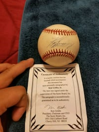 KEN GRIFFEY JR. SIGNED AUTHENTICATED  Yuma, 85365