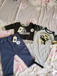 new with tag Toddler boy 3 to 18 months clothes