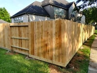 fences of cedar and pine are made at a good price Missouri City
