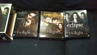Twilight triple board game collection