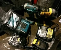 two black and green cordless power tools Edmonton, T5W 3L5