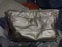 Gold Couch Diaper Bag