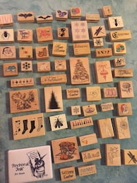 Wooden Stamps arts & crafts 55 km