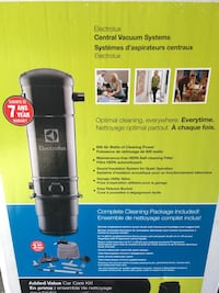Brand New Electrolux Central Vacuum