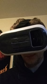 black and white VR headset Vancouver, V6A