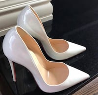 White Christian Louboutin pumps Washington, 20024