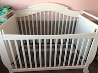 baby's white wooden crib Oceanside, 92057