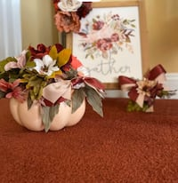 New pair of Floral Fall decor Whitehall, 18052
