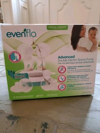 Evenflo double Breast pump new damage box