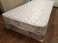 Single mattress 60$.box 20. Clean no stains Edmonton, T5A 4H3