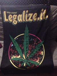 Weed Poster/Flag Mississauga