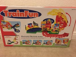 TrainFun Electric Flip Track toy