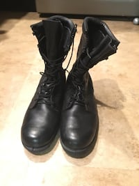 Military steel toe work boots. Size 9 wide.  San Diego, 92114