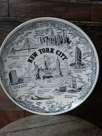New York twin tower collectors plate
