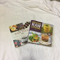 Raw cooking book bundle; the healthy diet Houston, 35572
