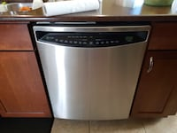 stainless steel and black dishwasher Holiday, 34690