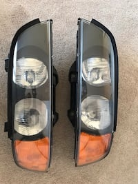 1998 BMW 5 series halogen headlights