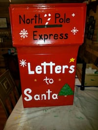 Drop off a Letter to Santa! ( Mailbox Not for Sale ).
