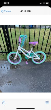 Beautiful girls bike (14 in.)