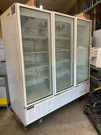 Three door freezer