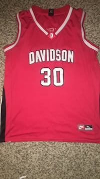Nike Stephen Curry Davidson College Jersey