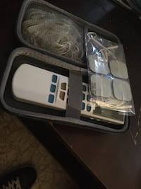 TENS Unit with 4 outputs with case and Electrode Gel/Muscle Toner Temple Hills, 20748