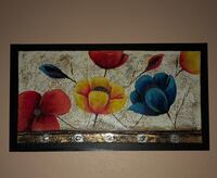 COLORFUL FLOWER WALL DECOR Houston, 77084