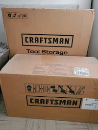 Craftsman stackable roll away tool boxs