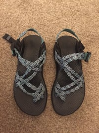 pair of green Chaco trek sandals Daphne, 36526