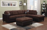2 PCS SECTIONAL WITH OTTOMAN