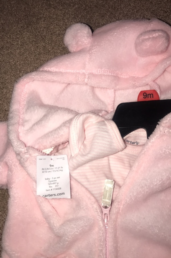 Used Carters 3pc Set For Girl 9mon For Sale In Oxnard Letgo