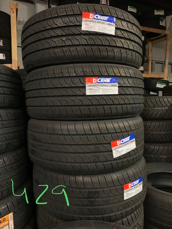 Used Tires San Jose >> 265 40r22 Tire Dcenti D8000 Set Of 4 Tires Free Install With Warranty