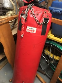 red York heavy bag and gloves