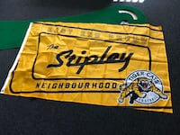 Tiger Cats STIPLEY home flag. Hamilton proud. NEW. Collectible. Hamilton, L8H 4R3